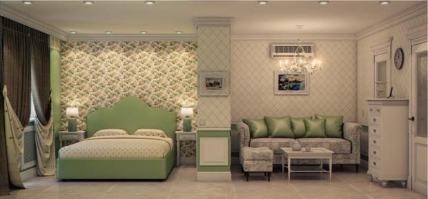 Фотография: Спальня в стиле Прованс и Кантри, Марокко + Прованс, интерьерный стиль прованс, прованс в интерьере – фото на InMyRoom.ru