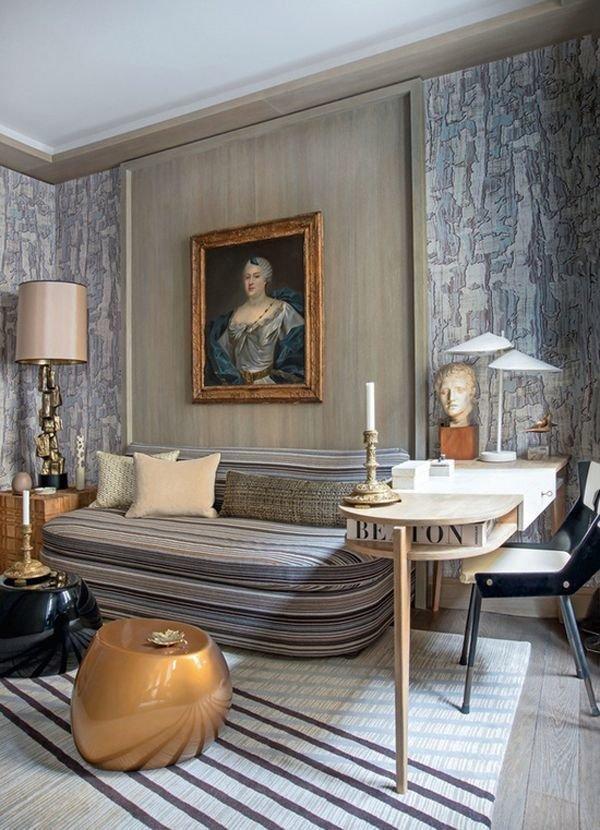Фотография: Гостиная в стиле Эклектика, Классический, Декор интерьера, Декор дома, Картины – фото на InMyRoom.ru