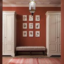 Фотография: Прихожая в стиле Восточный, Классический, Квартира, Дома и квартиры, Проект недели – фото на InMyRoom.ru