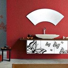 Фотография: Ванная в стиле Минимализм, Декор интерьера, Дом, Декор дома, Сервировка стола – фото на InMyRoom.ru