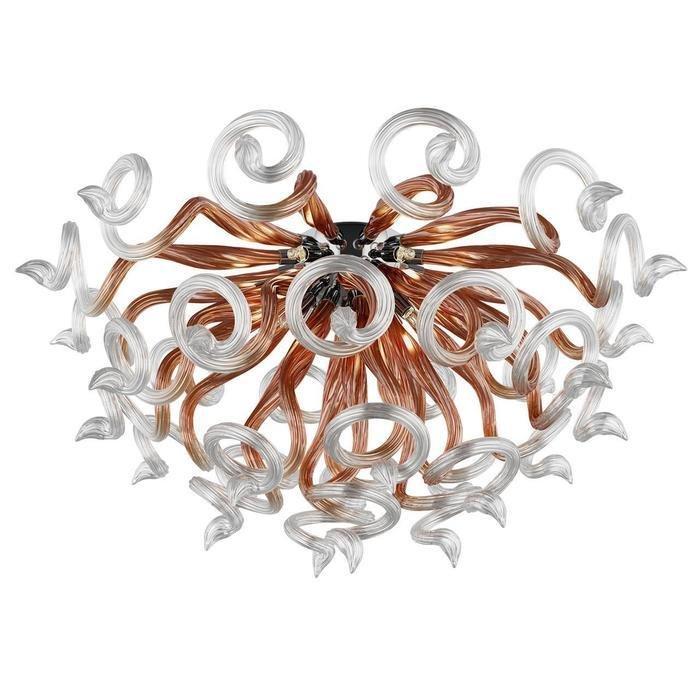 Потолочная люстра Lightstar Medusa с оригинальным дизайном