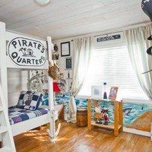 Фотография: Детская в стиле Кантри, Декор интерьера, Интерьер комнат, Мебель и свет – фото на InMyRoom.ru