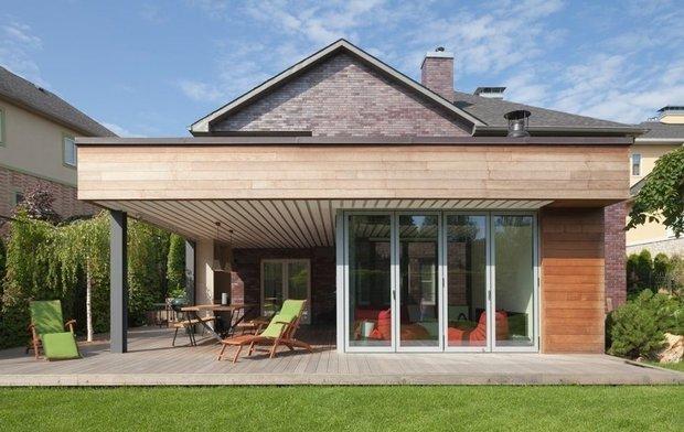 Фотография: Архитектура в стиле , Дом и дача, Estima, Ametis by Estima, дачная веранда – фото на INMYROOM