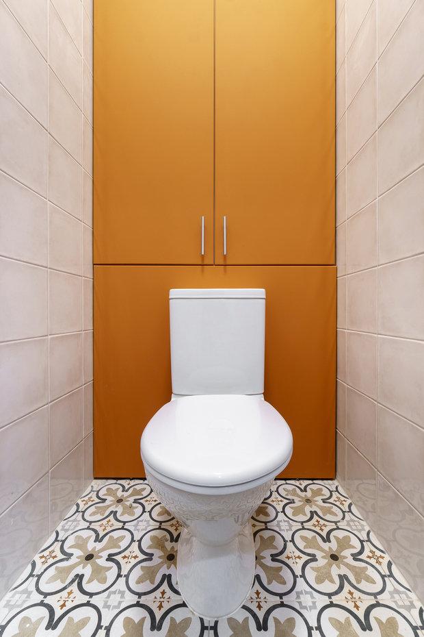 Фотография: Ванная в стиле Современный, Квартира, Проект недели, Санкт-Петербург, 1 комната, до 40 метров, Александра Сакмарова – фото на INMYROOM