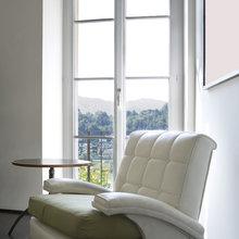 Фотография:  в стиле Современный, Декор интерьера, Декор дома, Советы, Большие окна, Панорамные окна – фото на InMyRoom.ru