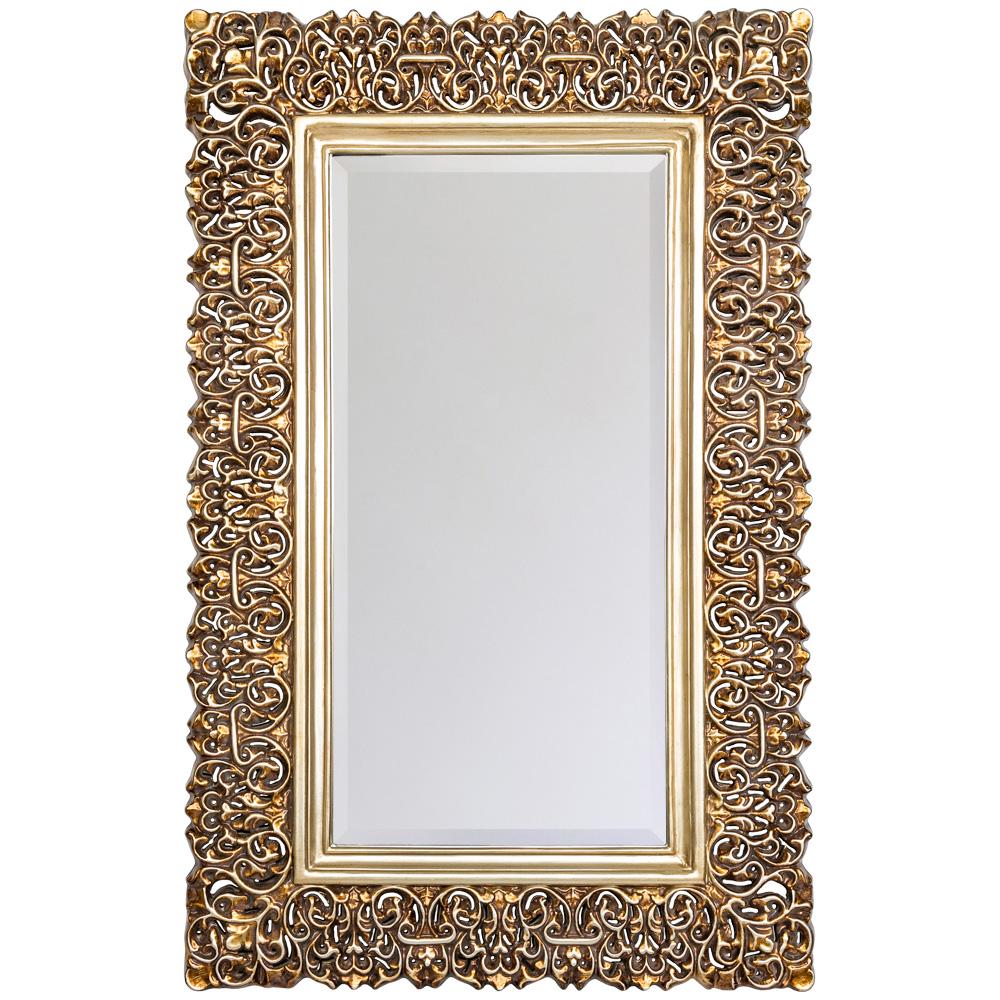 Настенное зеркало багдад в раме цвета состаренной бронзы, inmyroom, Россия  - Купить
