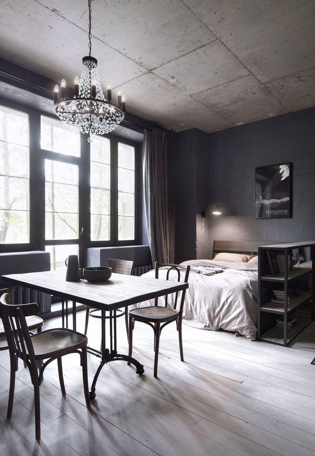 Фотография: Спальня в стиле Лофт, Квартира, Советы, генеральная уборка, Уборка, Meine Liebe – фото на INMYROOM