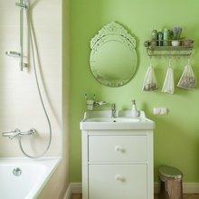 Фотография: Ванная в стиле Кантри, Классический, Эклектика, Дом, Проект недели – фото на InMyRoom.ru