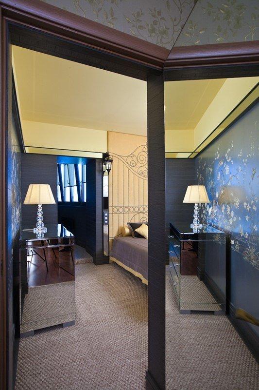 Фотография: Спальня в стиле Современный, Восточный, Эклектика, Интерьер комнат, Проект недели – фото на InMyRoom.ru