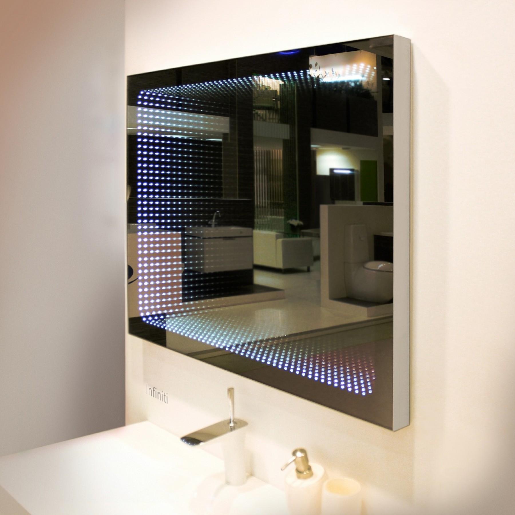Зеркало с подсветкой Infiniti 60