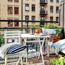Фотография: Балкон в стиле Кантри, Скандинавский, Карта покупок – фото на InMyRoom.ru