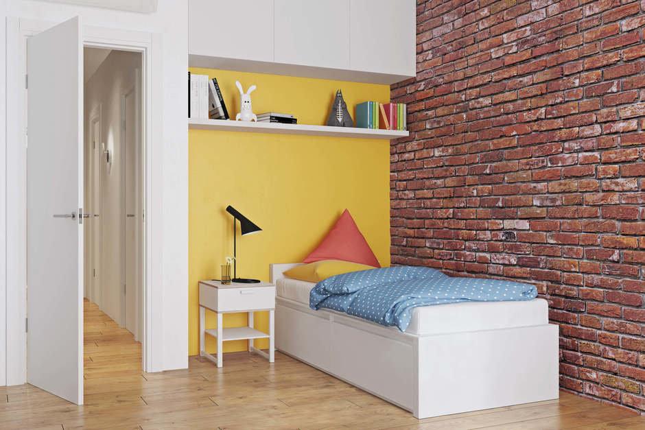 Фотография: Детская в стиле Современный, Квартира, Проект недели, Geometrium, Монолитный дом, 3 комнаты, 60-90 метров, ЖК «Арт Casa Luna» – фото на InMyRoom.ru