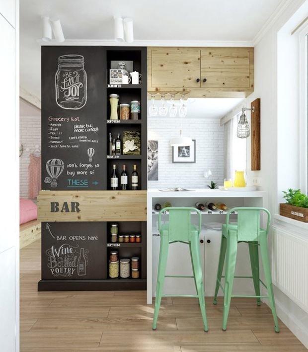 кухня в стиле лофт в хрущевке фото