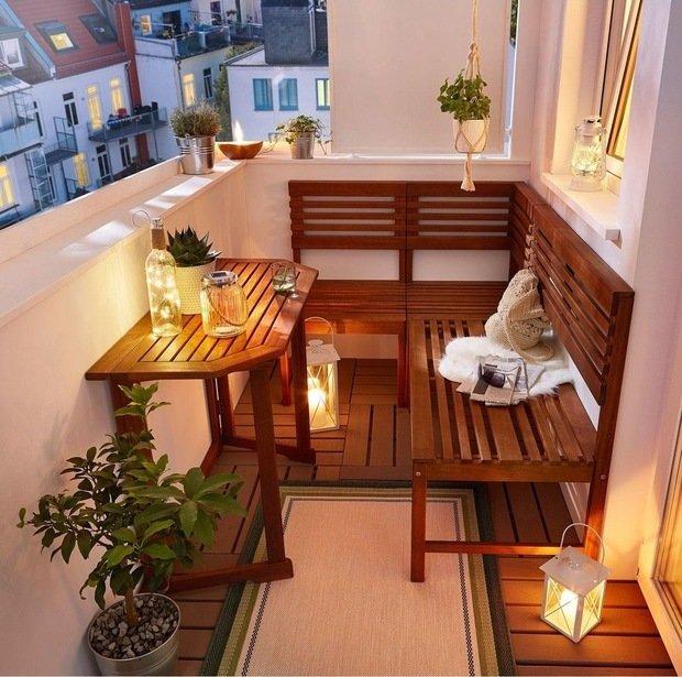 Фотография: Балкон в стиле Эко, Советы, как оформить балкон, идеи для дачи – фото на INMYROOM