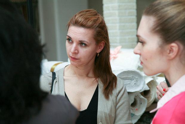 Фотография: Гостиная в стиле Современный, Эко, Текстиль, Индустрия, События, Ткани – фото на InMyRoom.ru