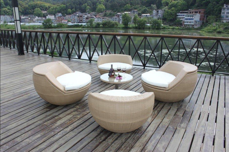 Фотография: Балкон, Терраса в стиле Современный, Декор интерьера, Мебель и свет – фото на InMyRoom.ru