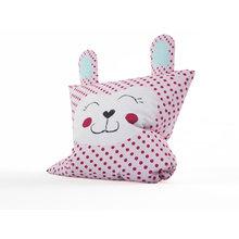 Дизайнерская подушка: Улыбающийся зайка