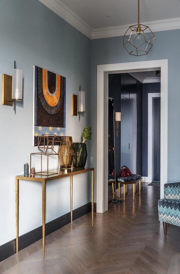 Фото из портфолио Квартира на Мосфильмовской улице – фотографии дизайна интерьеров на INMYROOM