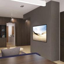 Фотография: Кухня и столовая в стиле Современный, Квартира, Дома и квартиры, Перепланировка – фото на InMyRoom.ru