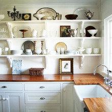 Фотография: Кухня и столовая в стиле Кантри, Инга Ажгирей, Руслан Кирничанский – фото на InMyRoom.ru