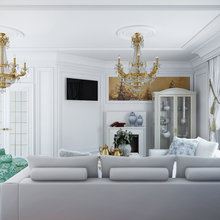 Фото из портфолио Дом в Зеленограде. – фотографии дизайна интерьеров на InMyRoom.ru