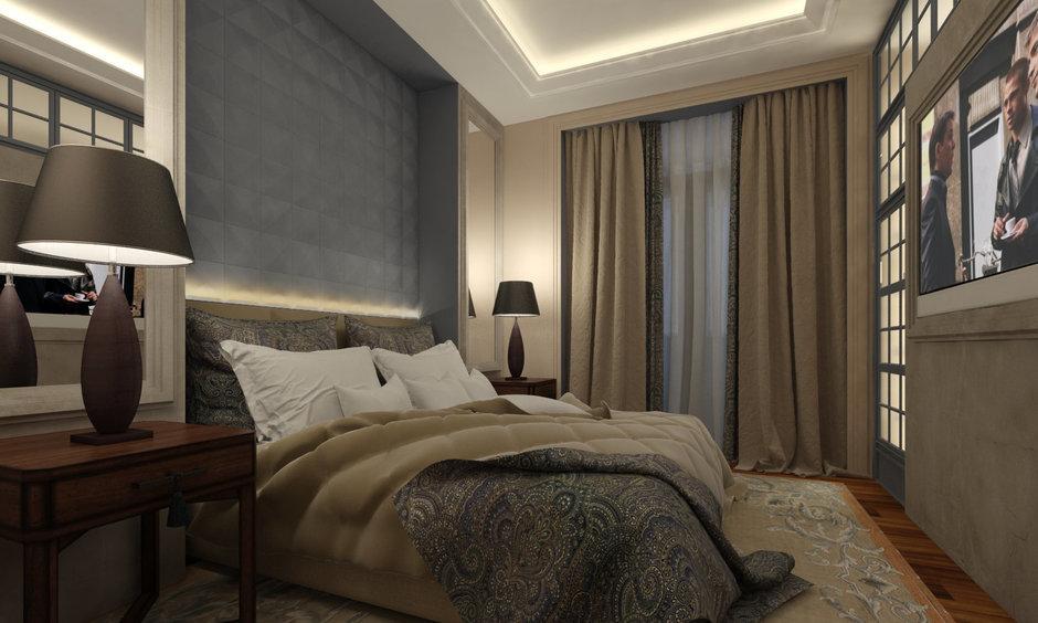 Фотография: Спальня в стиле , Квартира, Дома и квартиры, Проект недели, Переделка – фото на InMyRoom.ru