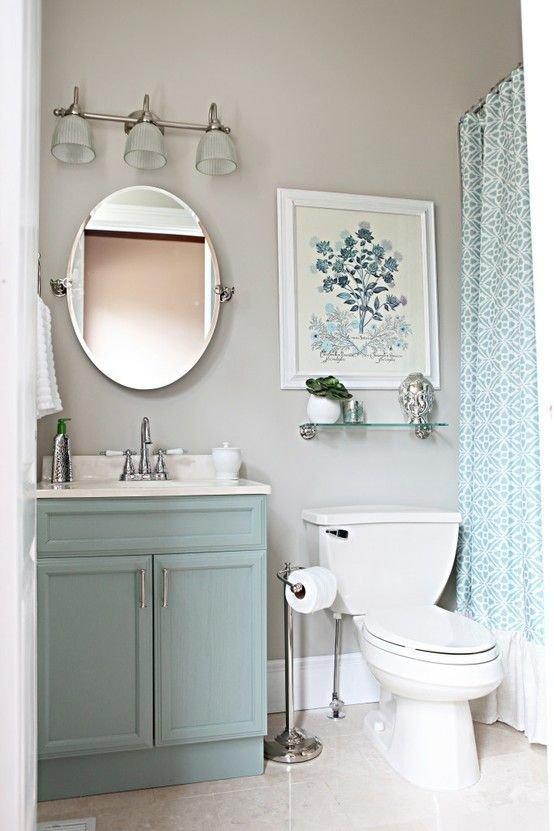 Фотография: Ванная в стиле Прованс и Кантри, Интерьер комнат – фото на InMyRoom.ru
