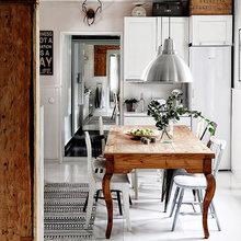 Фотография: Кухня и столовая в стиле Скандинавский, Советы, Дом и дача, Финляндия – фото на InMyRoom.ru