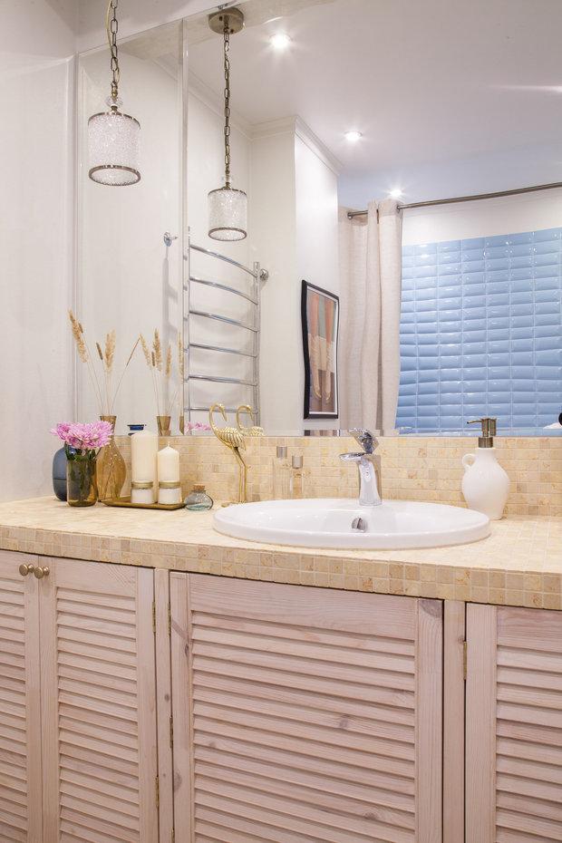 Фотография: Ванная в стиле Классический, Современный, Перепланировка, сантехника для ванной комнаты, AMPM – фото на INMYROOM