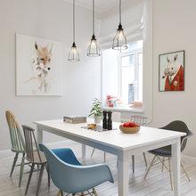 Фотография: Кухня и столовая в стиле Скандинавский, Квартира, Дома и квартиры, Проект недели – фото на InMyRoom.ru