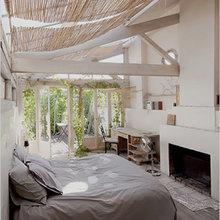 Фотография: Спальня в стиле Кантри, Дом, Дома и квартиры, Лестница – фото на InMyRoom.ru