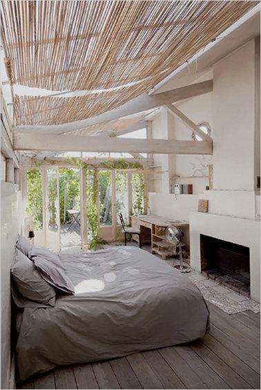 Фотография: Спальня в стиле Прованс и Кантри, Дом, Дома и квартиры, Лестница – фото на InMyRoom.ru