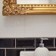 Фотография: Ванная в стиле , Скандинавский, Квартира, Цвет в интерьере, Дома и квартиры, Перепланировка, Серый – фото на InMyRoom.ru