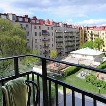 Фотография: Балкон, Терраса в стиле Современный, Скандинавский, Малогабаритная квартира, Квартира, Швеция, Дома и квартиры – фото на InMyRoom.ru