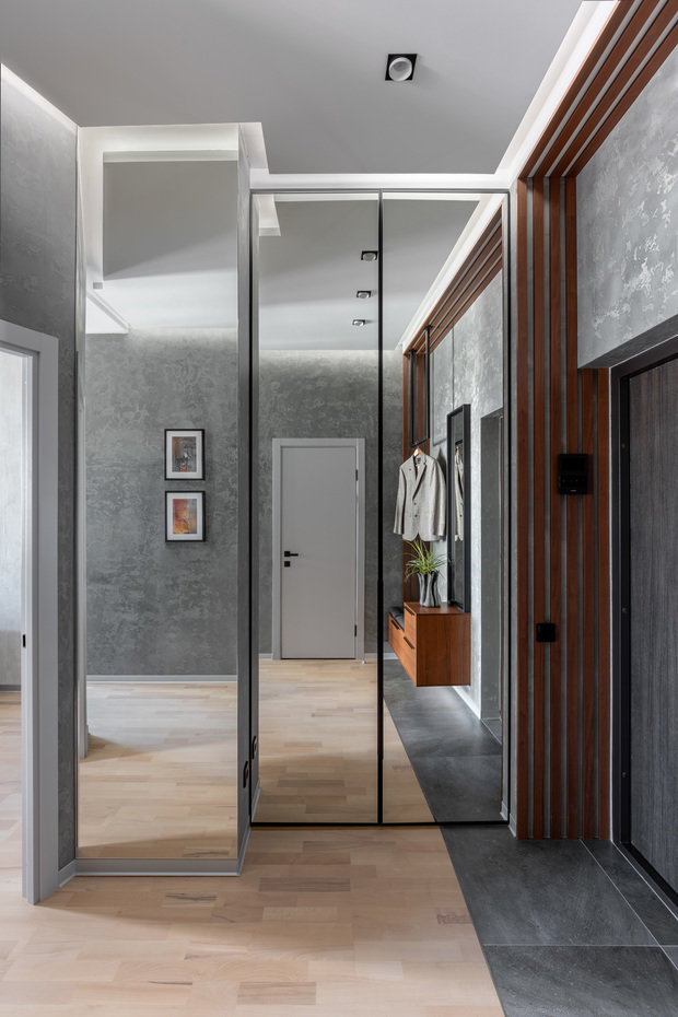 Фото из портфолио Квартира для криминалиста 39 кв.м – фотографии дизайна интерьеров на INMYROOM
