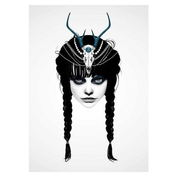 Принт Wakeful warrior A2