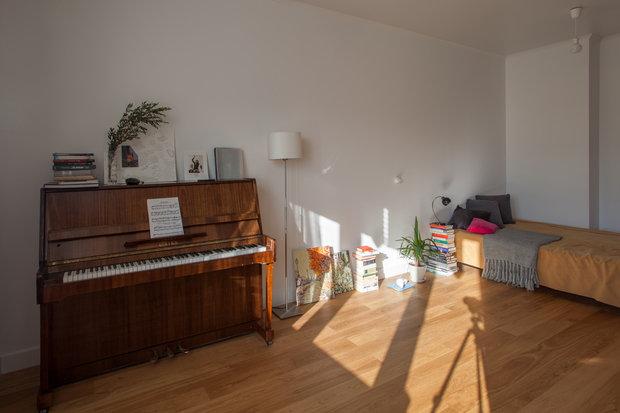 Фотография: Спальня в стиле Минимализм, Интервью, Сделано, Илья Шаргаев, Полина Филиппова – фото на INMYROOM