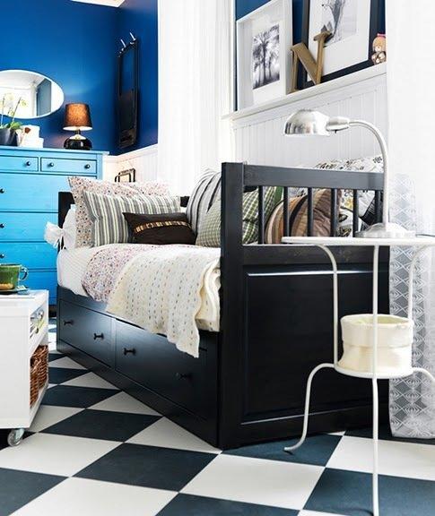 Фотография: Гостиная в стиле Прованс и Кантри, Спальня, Интерьер комнат – фото на InMyRoom.ru