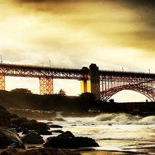 "Декоративная картина ""Бруклинский мост"""