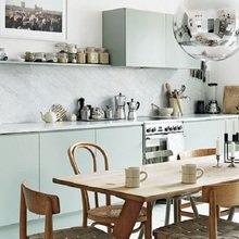 Фото из портфолио  Грани зеленого : Мятная кухня! – фотографии дизайна интерьеров на InMyRoom.ru