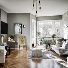 Фото из портфолио Fredriksdalsgatan 12 C – фотографии дизайна интерьеров на InMyRoom.ru