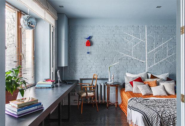 Фотография: Спальня в стиле Лофт, Советы, Ремонт на практике – фото на INMYROOM