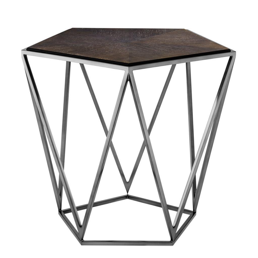 Купить Приставной столик Pentagon с деревянной столешницей, inmyroom, Нидерланды