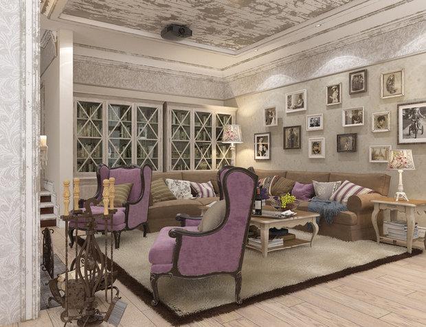 Фотография: Гостиная в стиле Прованс и Кантри, Классический, Дом, Дома и квартиры, Прованс, Проект недели – фото на InMyRoom.ru