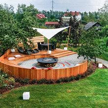 Фотография: Ландшафт в стиле Современный, Стиль жизни, Дача, Дачный ответ – фото на InMyRoom.ru