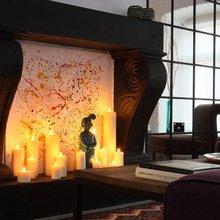 Фотография: Гостиная в стиле Восточный, Декор интерьера, Квартира, Цвет в интерьере, Дома и квартиры, Стены, Екатерина Блохина – фото на InMyRoom.ru