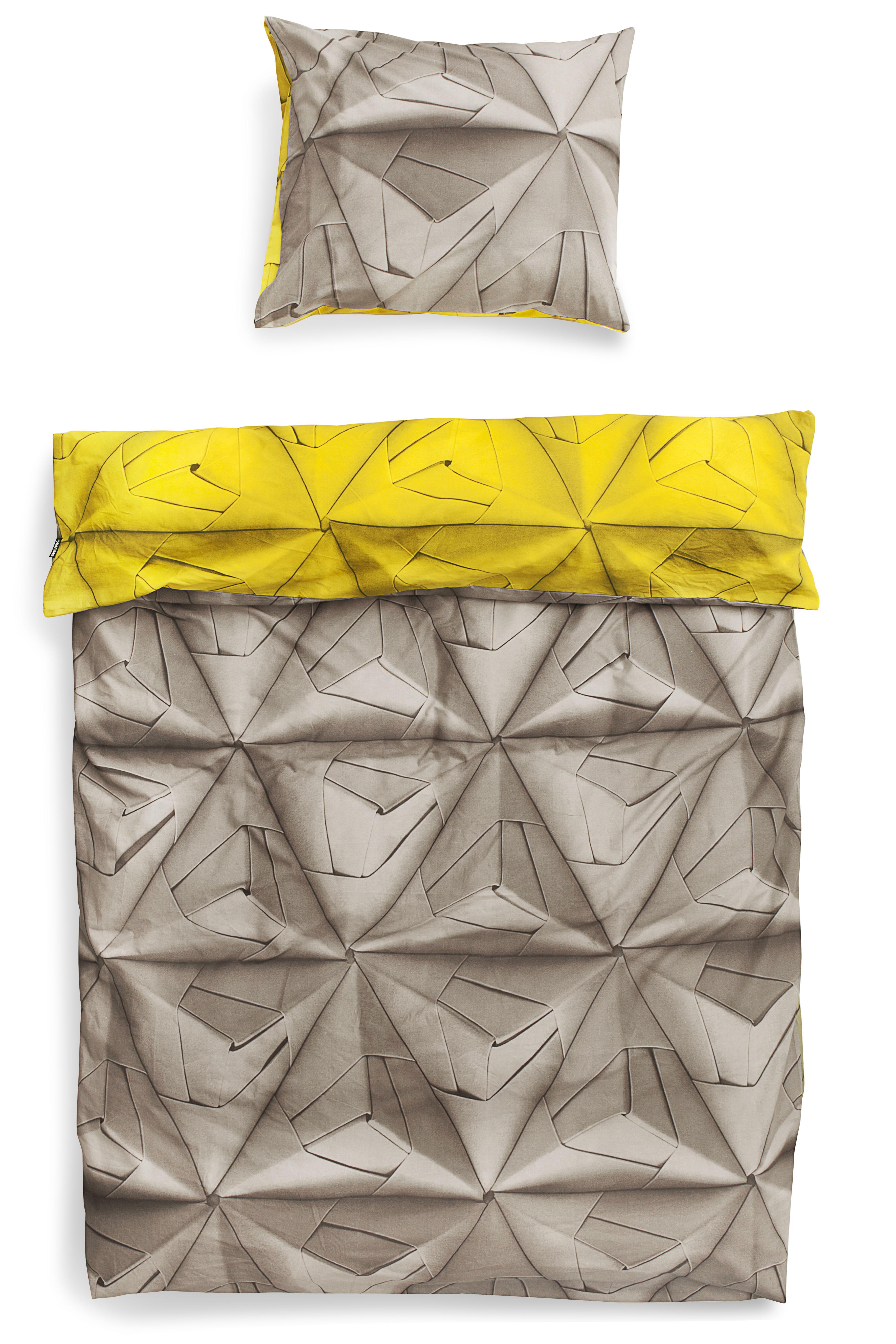 Комплект постельного белья Оригами 150х200 желтый