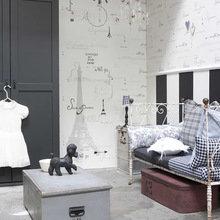 Фотография: Спальня в стиле Кантри, Детская, Декор интерьера, Декор дома, Обои – фото на InMyRoom.ru