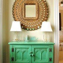 Фотография: Мебель и свет в стиле Восточный, Декор интерьера, Дом, Декор дома, Зеркало – фото на InMyRoom.ru