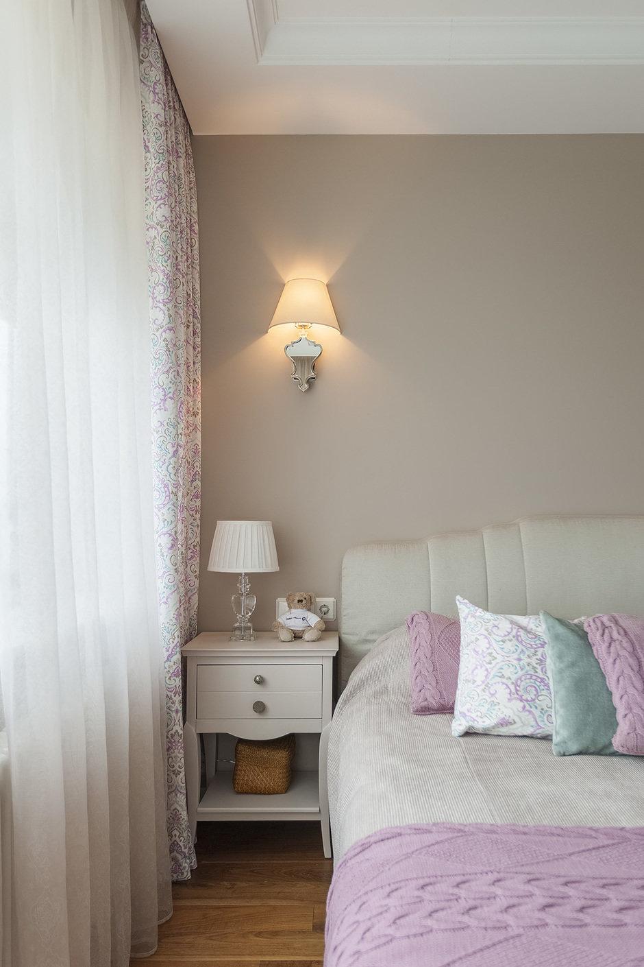 Фотография: Спальня в стиле Современный, Квартира, Проект недели, Москва, Герой InMyRoom, 3 комнаты, 60-90 метров, Монолитно-кирпичный – фото на InMyRoom.ru